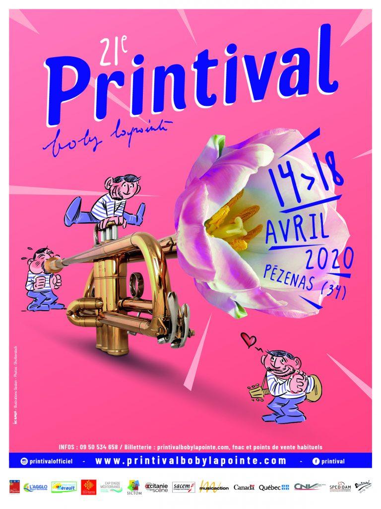 affiche printival 2020